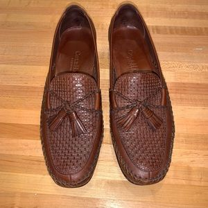Cole Haan country brown loafers with tassels